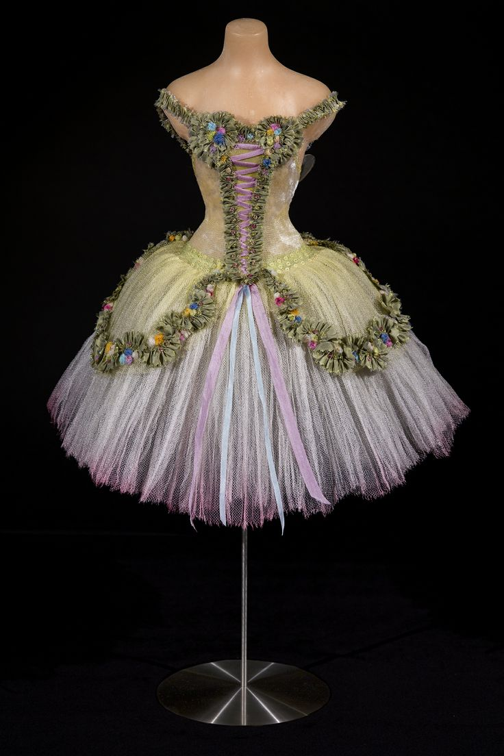 Amazing miniature ballet confection from The Little Costume Shop - Our 'Spring Fairy' miniature. Photo by Richard Wilding.