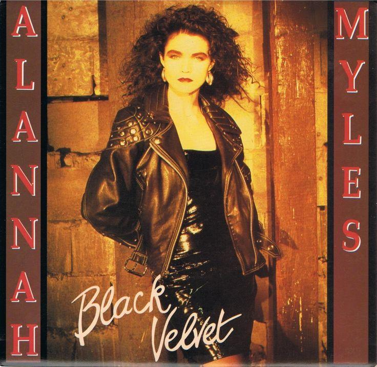 ღ Black Velvet ~ Alannah Myles ღ - YouTube