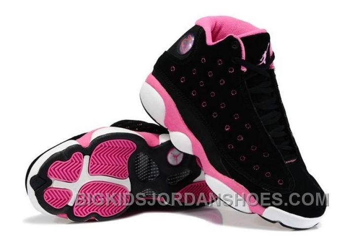 http://www.bigkidsjordanshoes.com/buy-nike-air-jordan-xiii-13-retro-2014-womens-shoes-black-pink-2016-new.html BUY NIKE AIR JORDAN XIII 13 RETRO 2014 WOMENS SHOES BLACK PINK 2016 NEW Only $99.00 , Free Shipping!