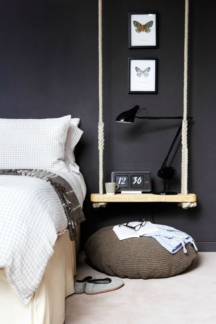 Swinging Shelves - Interiors By Color