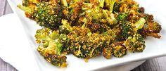ngredientes 700 g de brócolis cozido e picado 3 claras 2 colheres (sopa) de aveia  Modo de preparo Misture bem todos os ingredientes em um bowl. Coloque o resultado em uma assadeira antiaderente. Leve ao forno preaquecido por 40 minutos ou até dourar. Sirva em seguida.