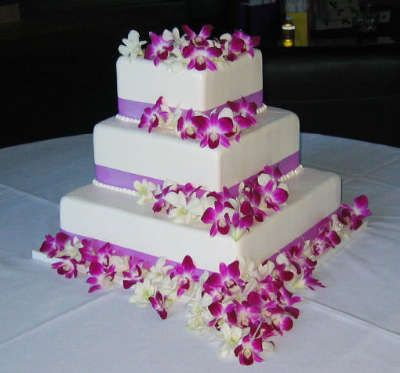 Best 25 Orchid Wedding Cake Ideas On Pinterest Cakes With Flowers And Gold