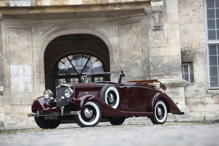 RAILTON  Fairmile MK111- 1937 N° châssis: 7A85P000701756402 Moteur, boîte, châssis HUDSON Moteur 8 cylindres en ligne, 4168 cm3 Puissance 124cv à 4200 t/min 155 km/h - FEE - Stanislas Machoïr -  03/05/2015