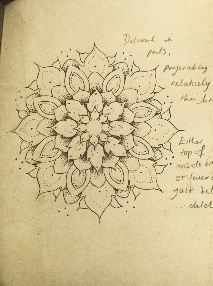 Mandala Designs, lottevanns: Design for my next tattoo :) Love...