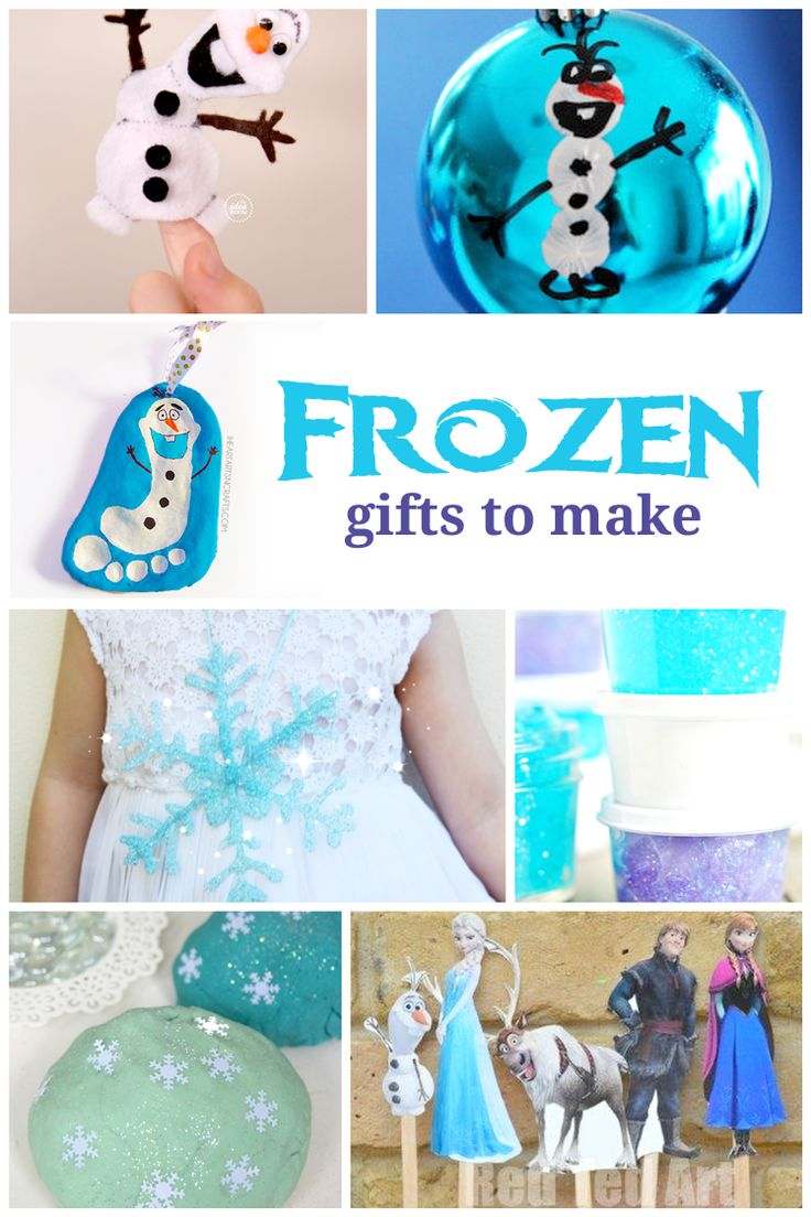 Frozen Gift Ideas and Gifts to make -- all under $30