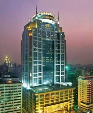 Asia hotel, Guangzhou. Nice view on the whole city from the restaurant on the top floor!