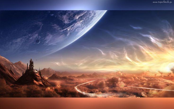 Abstrakcja, Kosmos, Chmury
