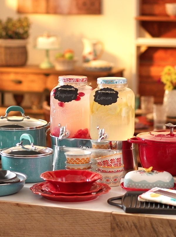 Bring your table to life! The bright and stylish Pioneer Woman collection is an affordable way to bring some extra beauty to your meals. The collection from Ree Drummond includes a wide array of colorful dinnerware and cookware pieces that are easy to mix as well as must-have cast iron classics. Check out the full line now available exclusively at http://Walmart.com/thepioneerwoman and see it in your store on 9/14.