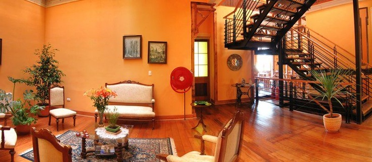 Stay at new hotel in Valparaiso, Chile.  Hotel Acontraluz!