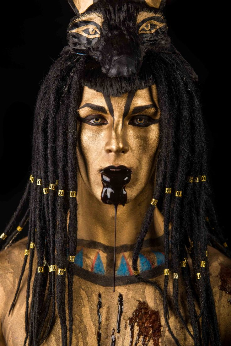 Anubis - The finished image Photography & Editing: Travis Longmore Model: Luke Middlebrook Concept, makeup and design: Marie Donnell - Mysdesign Hair and Makeup Published on Dark Beauty Magazine: http://www.darkbeautymag.com/2014/07/travis-longmore-anubis/