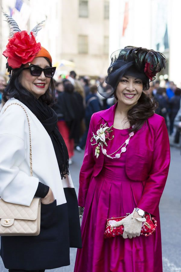 Extraordinary style at the New York 5th Avenue Easter Parade | 40plusstyle.com