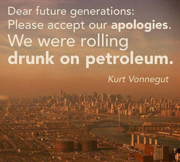 Kurt Vonnegut Quotes On Petroleum