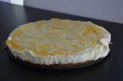Elke Hap: Mango yoghurt taart