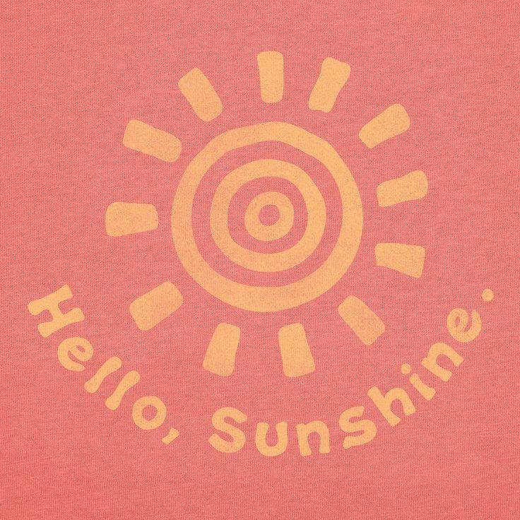 Hello, Sunshine.
