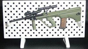 1/6 AOSHIMA ARMS COL Rifle Gun Weapon Firearm - Assault STEYR AUG Laser Pointer #aoshima #rifle #steyr #laser pointer #figure #1:6