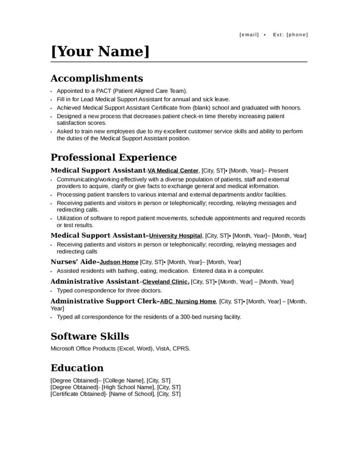 Mer enn 25 bra ideer om Lettre administrative exemple på Pinterest - medical assistant resume template free