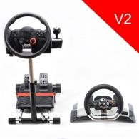 Wheel Stand Pro for Logitech wheels and Microsoft XBOX 360 wireless wheel - V2