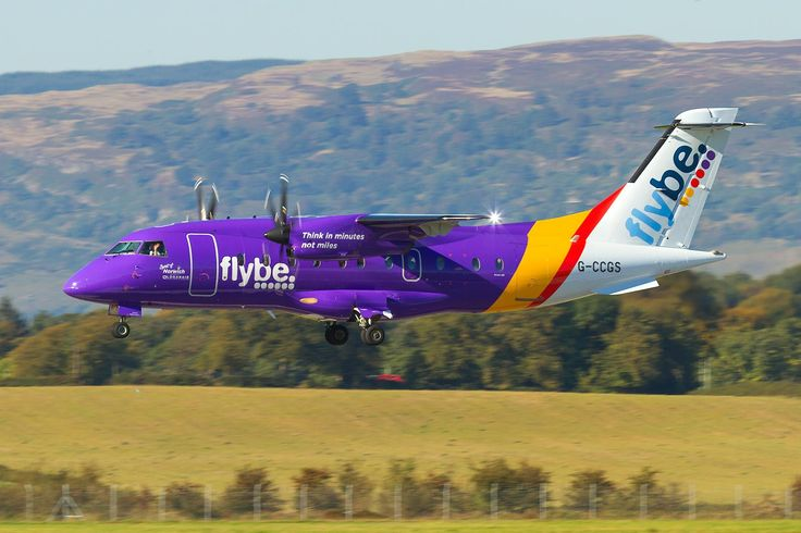 Loganair [operated as Flybe] Dornier Do-328 G-CCGS c/n 3101 Glasgow Airport January 10, 2015 Photo by: Taxiway Alpha Photography Sprit of Norwich