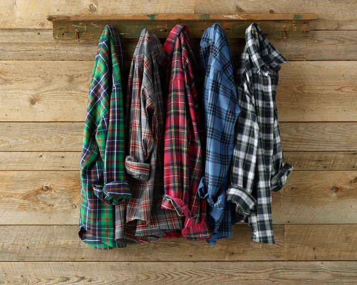 Notre top 5 chemises flanelle! / Our top 5 flanel shirts! #flanel #shirts