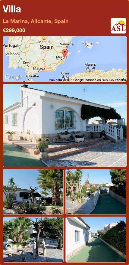 Villa in La Marina, Alicante, Spain ►€299,000 #PropertyForSaleInSpain