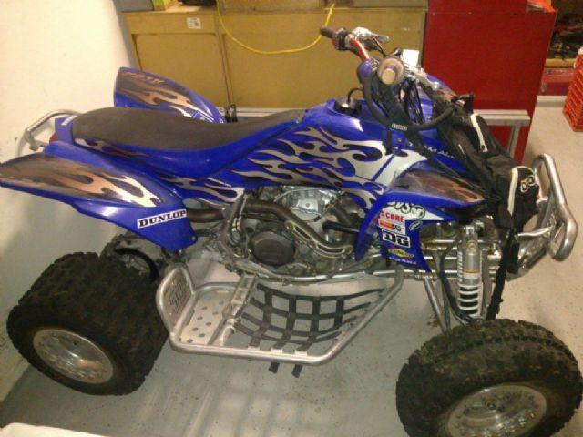 2005 Yamaha YFZ450 4-Wheeler , blue, 30 miles for sale in Surprise, AZ