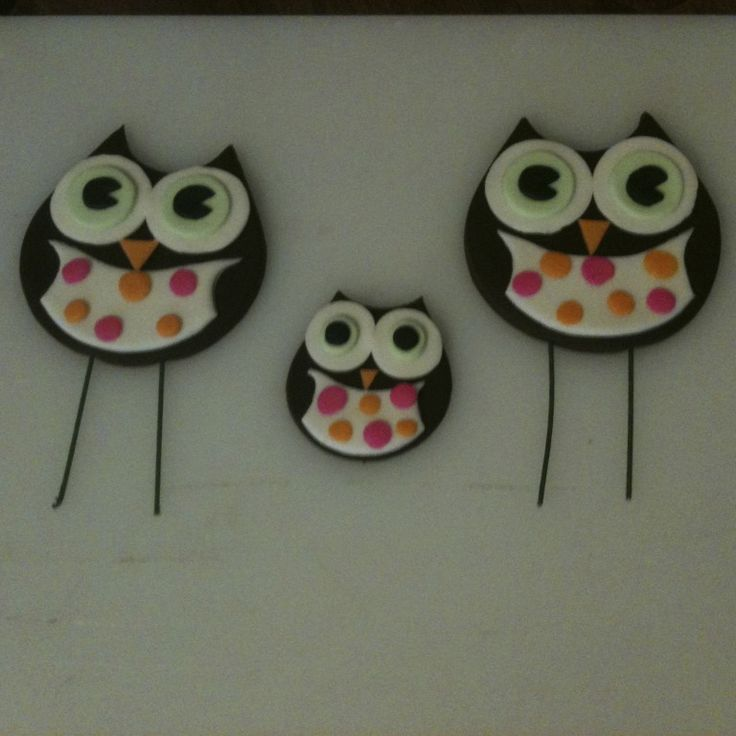 Owl Cake Decorations - Hoot Hoot!