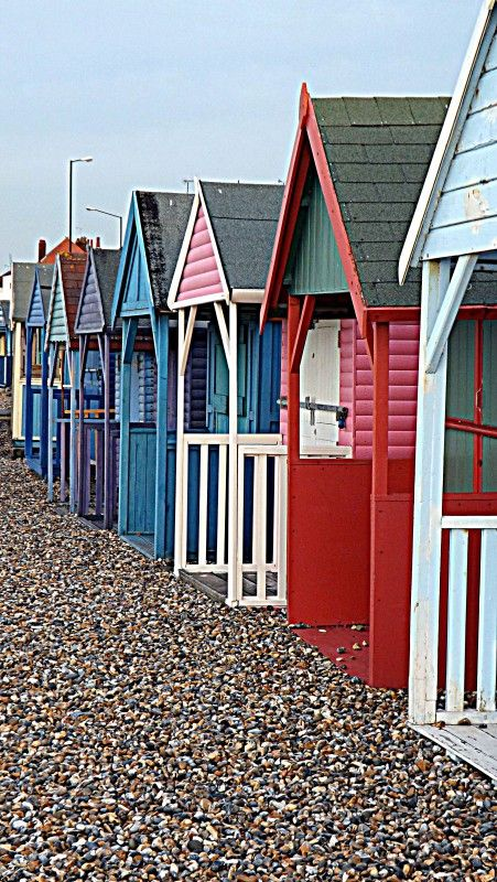Beach Huts |Pinned from PinTo for iPad|