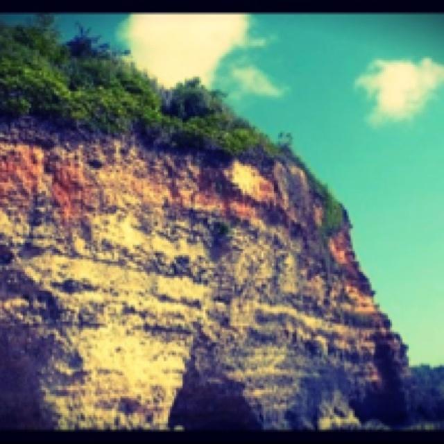 High cliff at pecatu, Bali