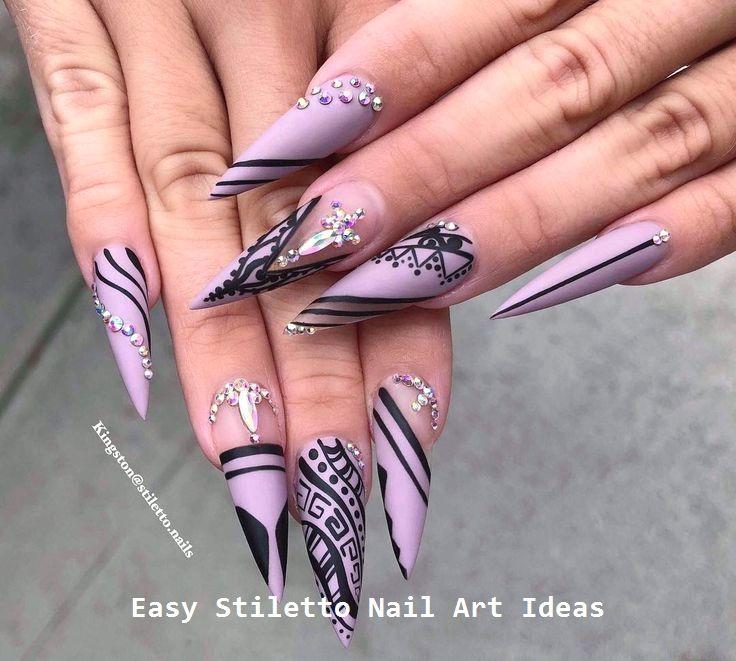 30 große Stiletto Nail Art Design-Ideen #naildesigns – Anziehsachen