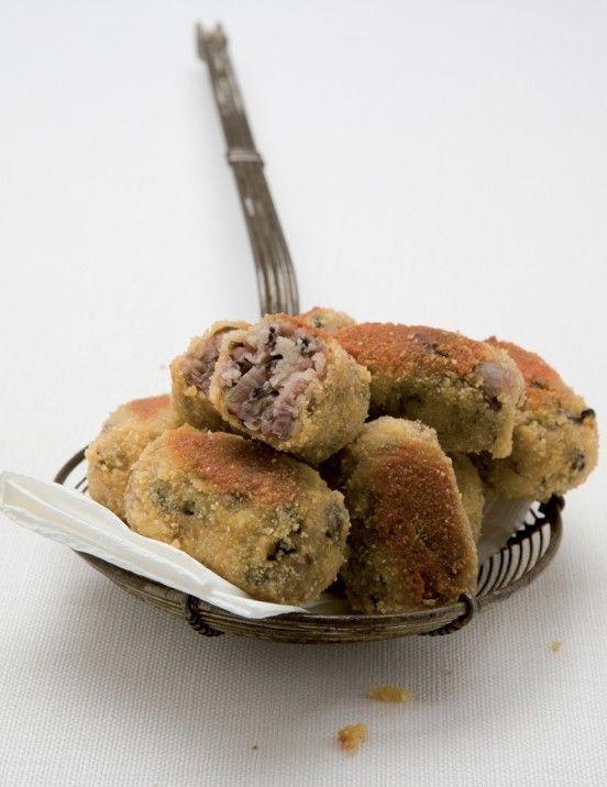 Et si on goûtait des Croquettes au radis de Trévise :  => http://www.gusto-arte.fr/recettes/croquettes-au-radis-de-trevise/