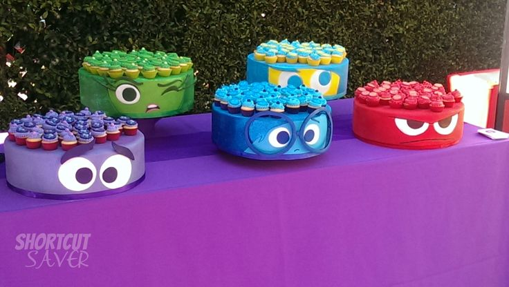 inside out movie cake - Google Search
