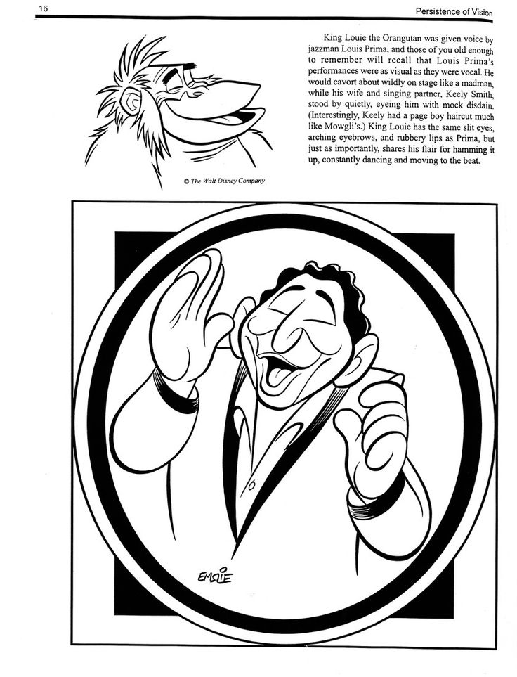 Louis Prima as King Louis from Walt Disney's The Jungle Book