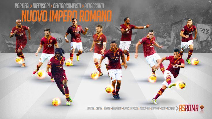 Forza27 » Squadra Roma Wallpapers 2014