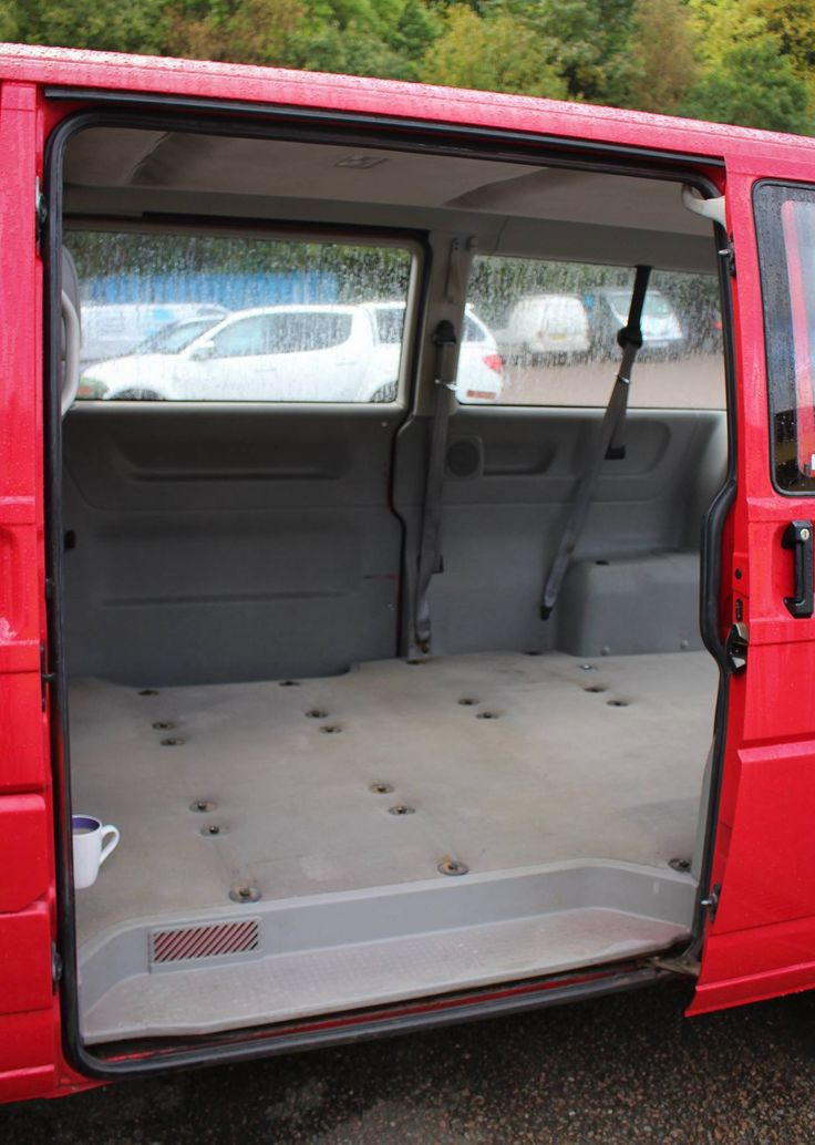 Before the transformation of this #VWT4 LWB #Campervan