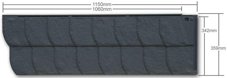 zierer fassadenverkleidung schiefer optik ss3 gfk tank. Black Bedroom Furniture Sets. Home Design Ideas