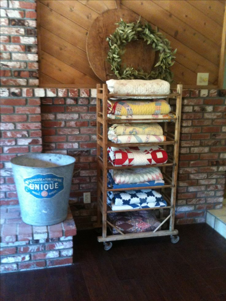 138 Best Quilt Ladders Images On Pinterest Quilt Racks