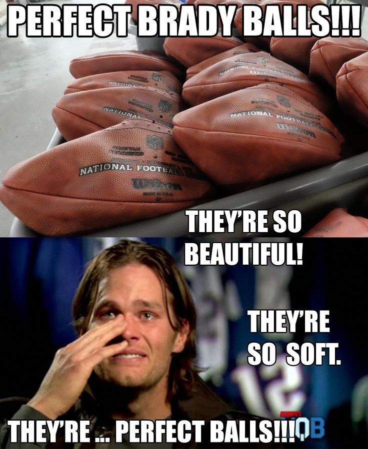 Tom Brady crying about beautiful perfect balls! #LOL #Deflategate #NewEngland #Patriots #TomBrady #NFL