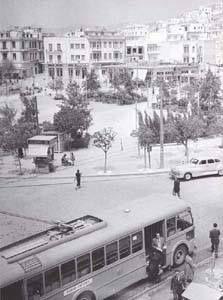 1955 ~ Kypseli square, Athens