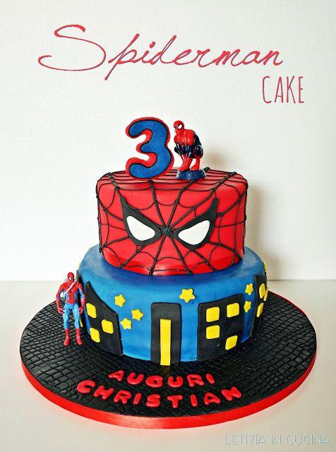 Letizia in Cucina: Torta e Biscotti di Spiderman - Bavarese ai frutti...