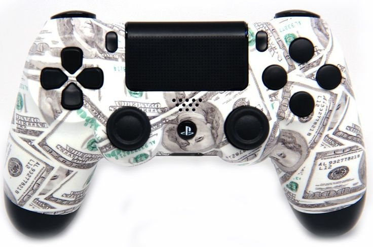 "This is our ""Benjamins"" PlayStation 4 Modded Controller. It is a perfect gift for a special gamer in your life. Order yours today at: http://moddedzone.com/ You can also visit our eBay store at: http://stores.ebay.com/moddedzone/"