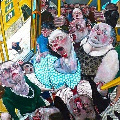 Toplu taşıma araçlarında telef olmadığımız huzurlu ve mutlu bir hafta olsun  #monday #happy #pazartesi #metro #metrobüs