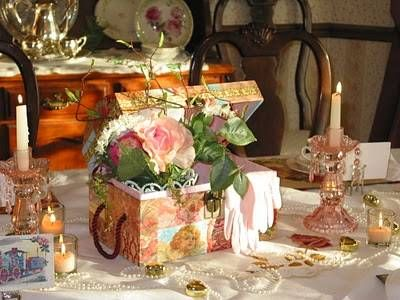 Vintage Wedding Centerpiece Ideas On Victorian Centerpiece