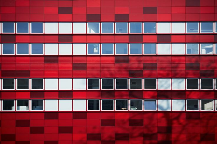 New construction and renovation of the Raciborz Regional Blood Center in Raciborz, PL Photo by Bartłomiej Senkowski © FAAB Architektura