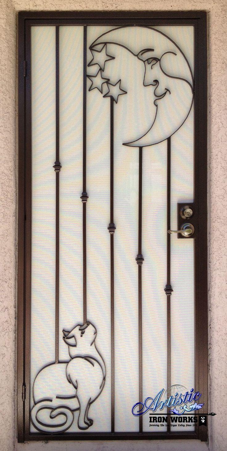 M s de 25 ideas incre bles sobre portones de hierro for Puertas corredizas de metal