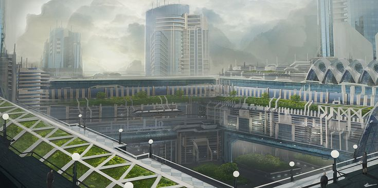 Ecological city by Tryingtofly on DeviantArt