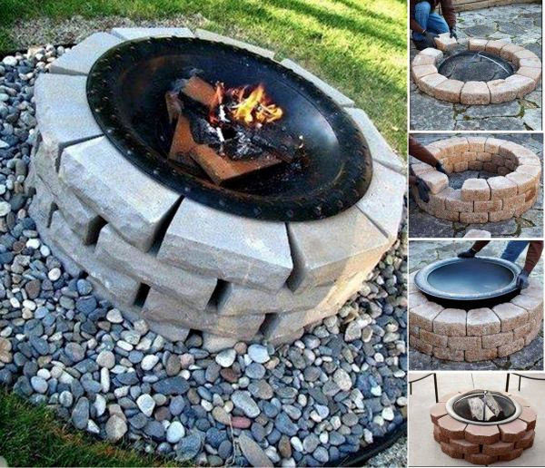 how to make a nice outdoor fire pit