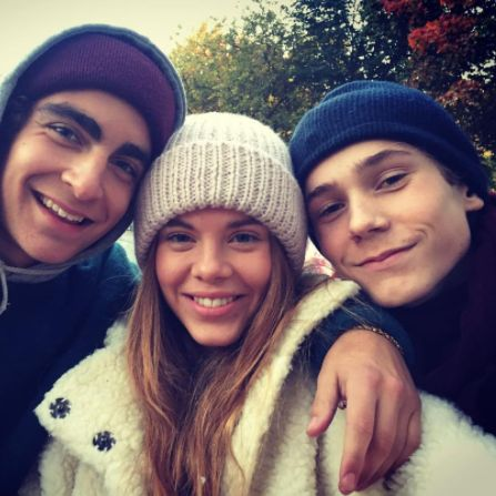 skam — p3skam: the original ot3 on Eva's instagram...