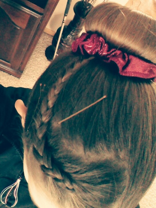 Incredible 1000 Images About Gymnastics Hairstyles On Pinterest Gymnastics Short Hairstyles Gunalazisus