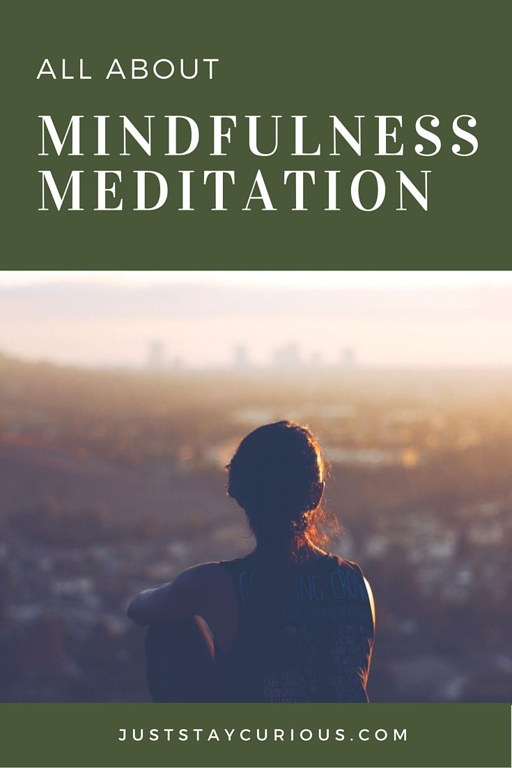 Mindfulness meditation- focus on your breath, bring your attention inward- a calming practice. Click the pic to get started.