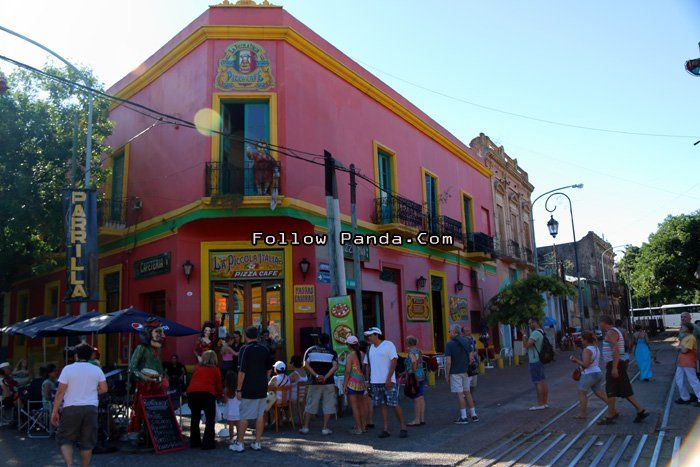 La Boca Caminito - Buenos Aires, Argentina | FollowPanda.COM